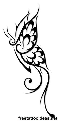 butter fly #ink - http://www.freetattooideas.net/butterfly-tattoos/
