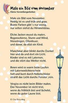 Die 11 Besten Bilder Von Gedichte Herbst Grundschule