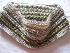 Infinity Scarf Hand Knit Multicolor by susanstreasures on Etsy, $28.00