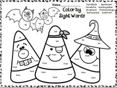 Color by Sight Word Sentences! Such a great way to learn