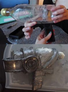 Build a League of Legends Jinx repinning this for thr bottle raygun idea in the pic
