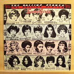 THE-ROLLING-STONES-Some-Girls-Vinyl-LP-Shattered-Beast-of-Burden-Miss-You