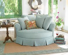 pretty chair & room...  Traditional Home magazine.com