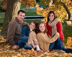 family poses | Diane Miller Photography: Fall Family Portraits Week!