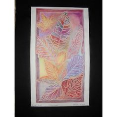 This work of art is beautiful. Fallen Leaves created by KatherineFranklinArt for $20