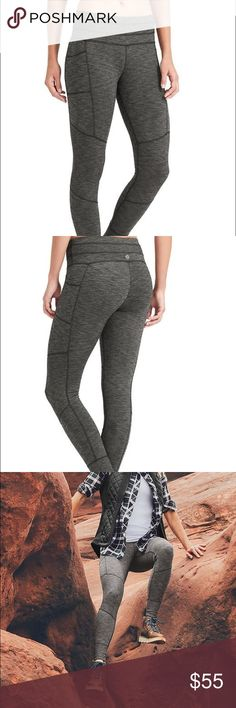 "Athelta Excursion Tight/Leggings Worn only ONCE! Brand new condition :) Fitted, Mid-rise, Tight leg Sits two fingers below your navel, fits next to skin Inseam: Regular: 27"". Petite: 25"". Tall: 30"" Athleta Pants Leggings"