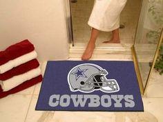 "NFL - Dallas Cowboys All Star Mat 33.75""""x42.5"""""