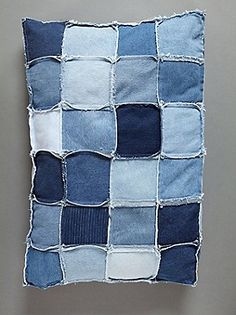 Love upcycled denim!