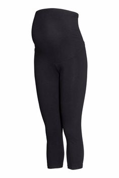 0c79acaa6a10c2 Details about -% H&M MAMA CONSCIOUS COLLECTION Black Maternity 3/4 leggings  UK 18/20