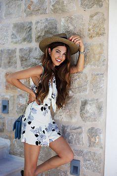 5 Chic Ways To Wear A Summer Hat