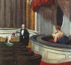 Two on the Aisle (Dos en el pasillo)(1927) Edward Hopper