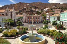 Riberia Brava, Main Square Sao Nicolau, Kaapverdie, Cabo Verde