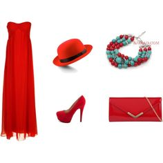 """""""Red"""" by anna99-486 on Polyvore"""