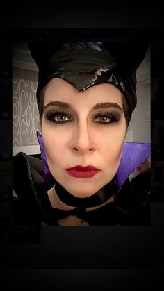 Malévola. Maleficent. Halloween. Make Up.