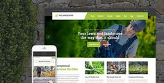 The Landscaper – Lawn & Landscaping WordPress Theme