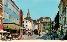 Friargate - not so long ago!