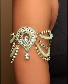 Pinterest, arm band, gypsy costuming, ornate jewelry, ornate armband,  arm jewelry