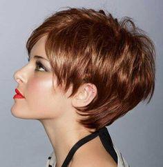 Short Sassy Hairstyle
