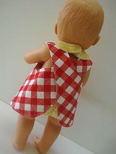 Doll pattern:Two in One Dress Pattern & Tutorial