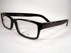 06b1ddd596c Helium Paris 4177 Black Men Eyeglass Eyewear Frames Glasses Designer New