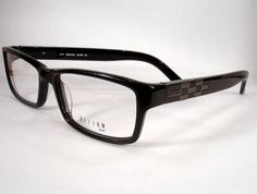 This style always looks so ruggedly handsome on the guys! Helium Paris 4177 Mens Black Eyewear. Lots to choose from at http://drrosenak.com/.