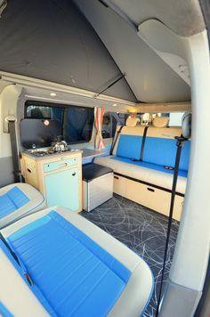 Airstream Renovation, Airstream Interior, Trailer Interior, Campervan Interior, Campervan Ideas, Vw T3 Westfalia, Kombi Motorhome, Opel Vivaro Camper, Van Life