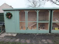 Very Large Rabbit Home. Amazing Large Rabbit Kennel Handmade to order By Boyles Pet Housing Putting Animal Welfare First.