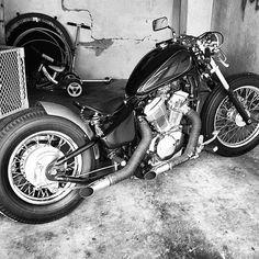 Honda Shadow 600 | Bobber Inspiration - Bobbers and Custom Motorcycles August 2014