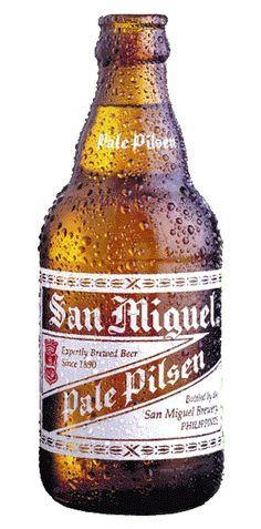 Iconic San Miguel Beer, my Lolo Tony was an Executive for this company back in his days.