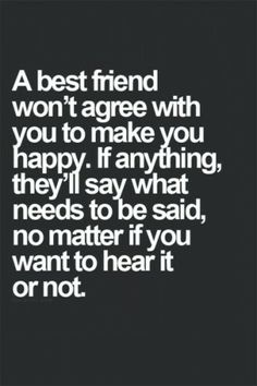 And that she does often. I only have a few friends but that's all I need because I'd rather have only a couple true friends than a bunch of fake ones. @Chelsie Watterson