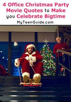 Cool Get ready to laugh at all of the Office Christmas Party movie quotes, because th... My Teen Guide Check more at http://kinoman.top/pin/9350/