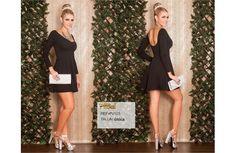 Vestido Colombianos PitBull +Modelos en: http://www.ropadesdecolombia.com/index.php?route=product/category&path=77   #vestido #corto #ropa #moda #verano #negro #fiesta #eventos #elegante #sexy