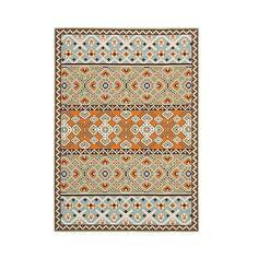 Safavieh Vigo Area Rug ($208) ❤ liked on Polyvore featuring home, rugs, green floral rug, safavieh area rugs, floral area rugs, green floral area rug and textured rugs