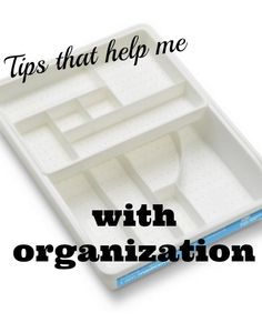 Organization Tips - Refresh Restyle