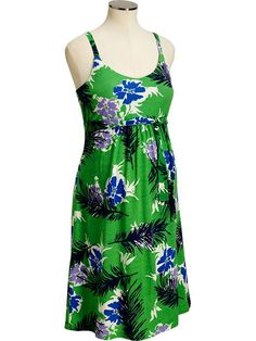 Old Navy | Maternity Floral Tie-Back Jersey Dresses