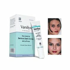Rozge Vanilyx Dark Circle Corrector - Set of 2 - 0.85 oz Each by Rozge. $55.00. Vanilyx is a topical cream that is specifically  formulated to lessen the appearance of serious dark circles and puffiness.  Vanilyx is not a cover up or make up - it is made for those individuals with  chronic dark circles. It can be used with your regular moisturizer and make-up.   Dark circles are formed under the eyes when the microcirculation process is  slowed and when the amount of oxyg...