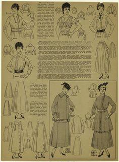 [Waists, shirt-waists, jackets, and skirts, 1915.] (1915)