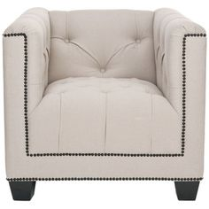 Bentley Club Chair Beige, now featured on Fab.