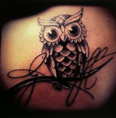 #owl #tattoo
