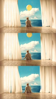 Yellow/Sky 'Serendipity'