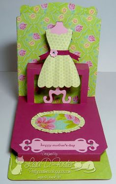Pretty Pastimes: Mothers Day Pop N Cuts