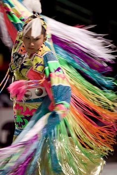 Powwow Dancer. → For more, please visit me at: www.facebook.com/jolly.ollie.77