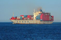 Chinese COSCO Freighter (Fletcher6)
