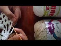 Kimono Crochê Aula 1 - YouTube