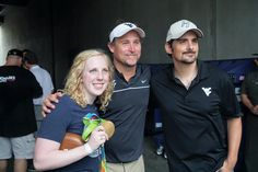 An Olympic gold medal winner, a football coach, and a country music superstar!