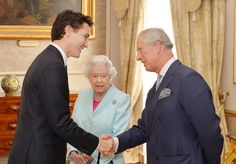 Queen Elizabeth II Photos - Prime Minister of Canada Justin Trudeau (left) talks to Queen Elizabeth II  and the Prince Charles, Prince of Wales during a Heads of Government reception at the San Anton Palace on November 27, 2015 near Attard, Malta. Queen Elizabeth II, The Duke of Edinburgh, Prince Charles, Prince of Wales and Camilla, Duchess of Cornwall arrived yesterday to attend the Commonwealth Heads of State Summit. - The Queen and Senior Royals Attend the Commonwealth Heads of…