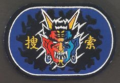 South Korea Army 9th Division ? Regiment RECON Company Blue Badge Patch