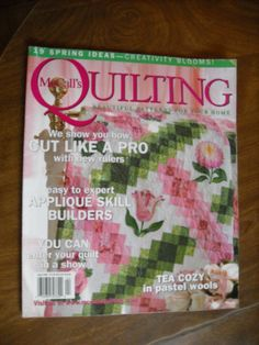 McCall's Quilting April 2005 Volume 12 No. 2 - for sale at Wenzel Thrifty Nickel ecrater store