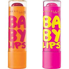 Baby Lips. Pretty hard to find in Mexico, but so far I adoooore the Pink Punch, and am going to get the red shade next. Need to stock up when I go to Canada.