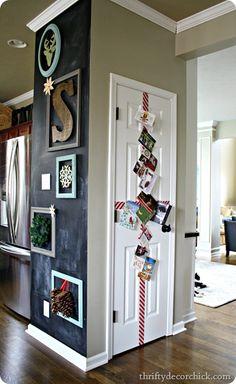 easy door holiday card display